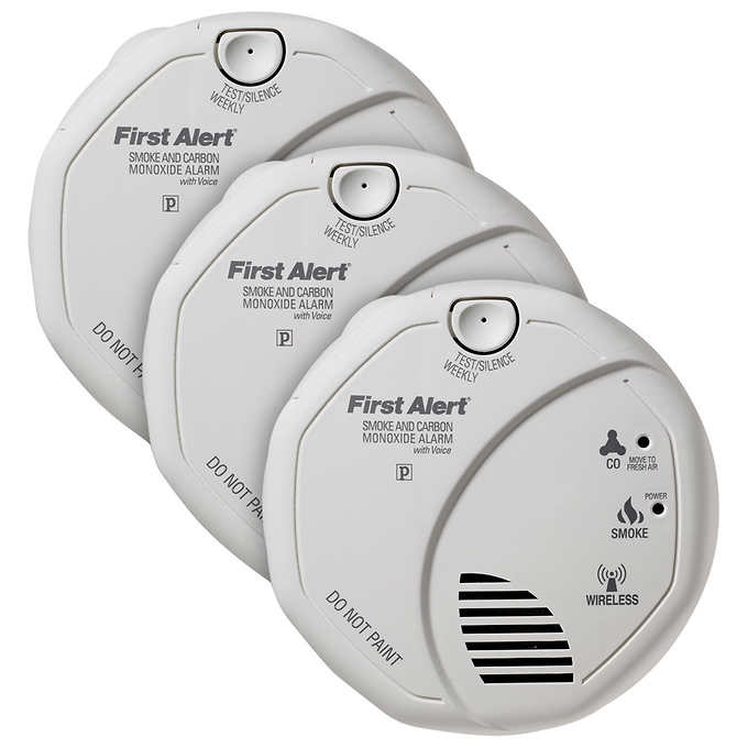 Costco.com - First Alert Smoke and Carbon Monoxide Alarm 3-pack $79.99 shipped. STARTS 8/28