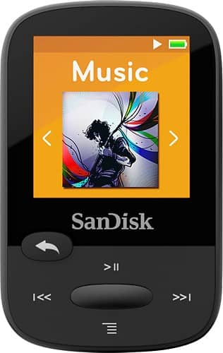 Best Buy - Sandisk Clip Sport 8GB MP3 Player. $29.99 free shipping or store pickup