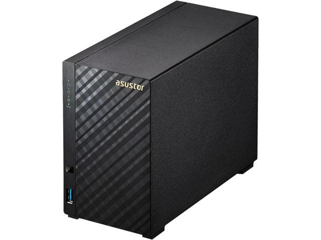 Newegg.com - Asustor AS1002T 2-bay NAS, Marvell ARMADA-385 Dual Core, 512MB DDR3, GbE x1, USB 3.0, WoL, System Sleep Mode. $89.99. Free shipping