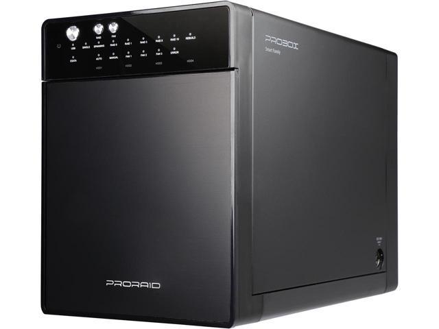 "Mediasonic HFR7-SU3S2 PRORAID Box 4 Bay Raid 3.5"" SATA Hard Drive Enclosure with USB 3.0 & eSATA $109.99 + Free Shipping Newegg.com"
