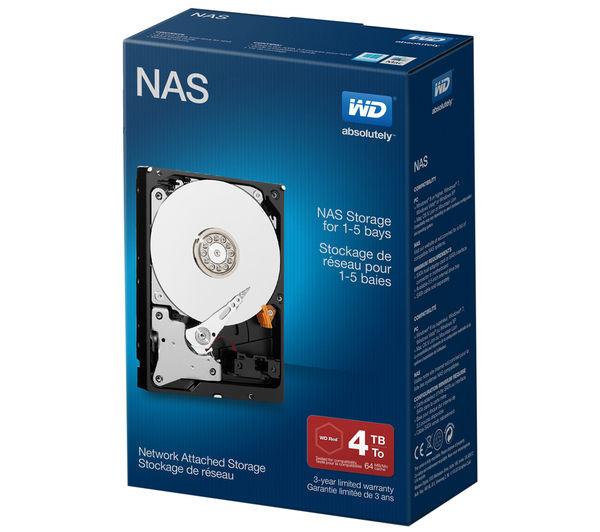 "Frys YMMV via Google Express: WD Red NAS 4TB Internal HDD Drive - 3.5"" - WDBMMA0040HNC. $98"