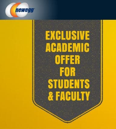Newegg 10% Coupon Code For Students and Faculty for Verifying Status
