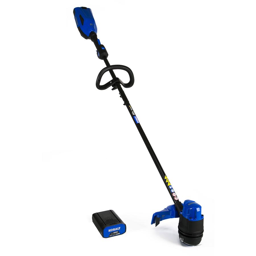 lowes weed eater. kobalt 40v 2.5a string trimmer ($99.00) plus bare tool leaf blower ($54.80 lowes weed eater