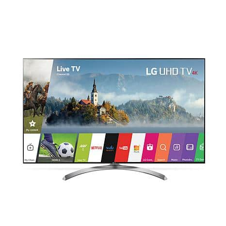 """65"""" LG Smart 4K Super Ultra HD TV with Dolby Vision, HDR Technology, webOS 3.5 $1199.95"""