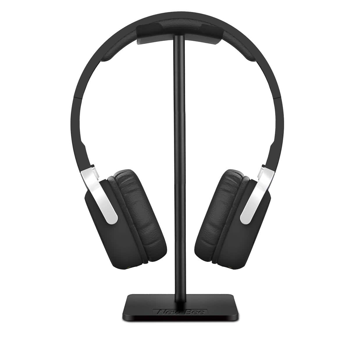 Headphone Stand Headset Holder New Bee Earphone Stand with Aluminum Supporting Bar Flexible Headrest $6.9