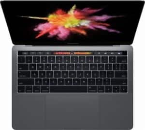 """Apple MacBook Pro 13"""" Touch Bar & Touch ID 256GB SSD 2017 Model - MPXV2LL/A $1399"""
