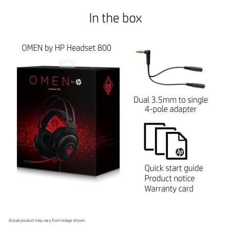 Select Walmart Stores: HP Omen Gaming Headset 800 $30 (Availability May Vary)