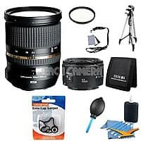 Beach Camera Deal: Tamron 24-70mm F2.8 Di VC USD KIT with canon 50mm 1.8 lens $1,104.98 AR/FS @ Beach camera.