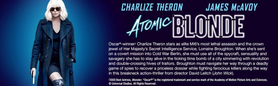Atomic Blonde 4k  $17.99