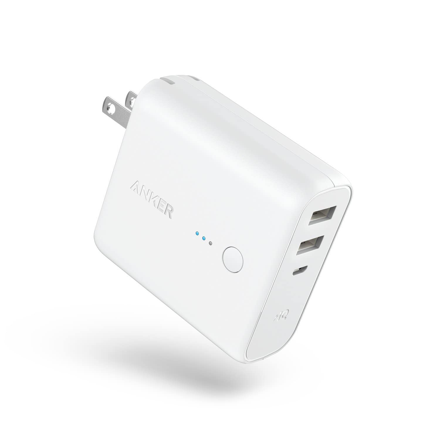 Anker PowerCore Fusion 5000 2-in-1 Portable Charger and Wall Charger $21.99
