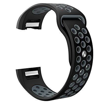 Fitbit Charge 2 Bands, Swees Soft Silicone Breathable Replacement Sport Band for Fitbit Charge 2 (various colors) $5.61 - $9.74 shipped w/Amazon Prime