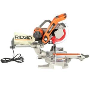 RIDGID 10 in. Sliding Compound Miter Saw with Dual Laser Guide @ Home Depot in-store only - $175 - YMMV