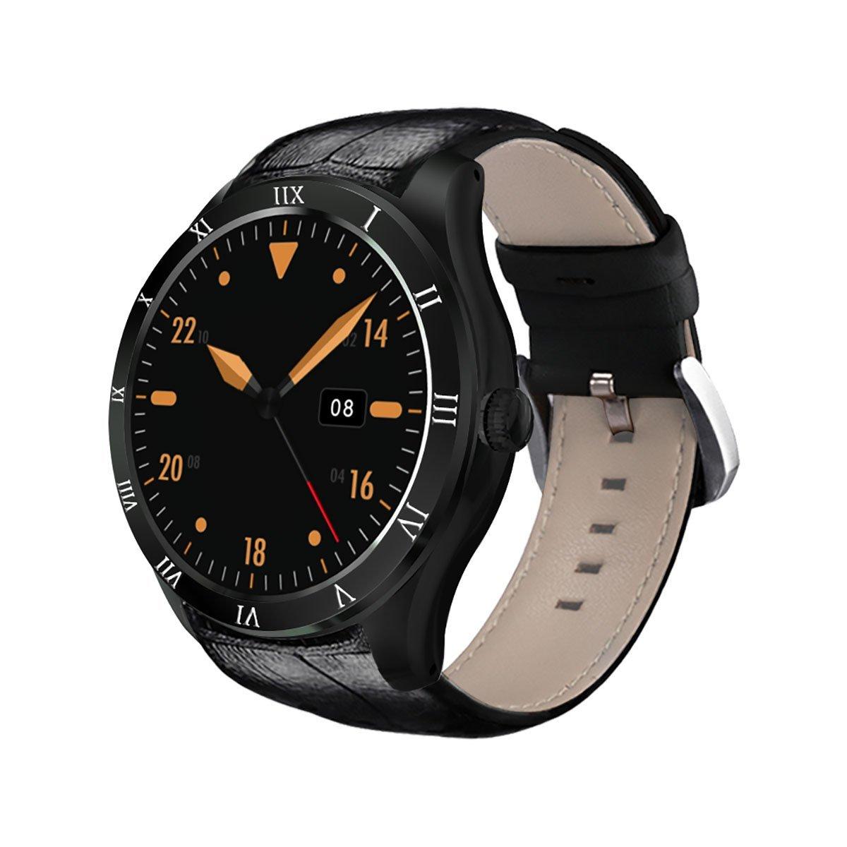 60%OFF urlhasbeenblocked DI05 Smart Watch Bluetooth MTK6580 Support WIFI GPS Microphone Speaker 3G Nano SIM $35.99