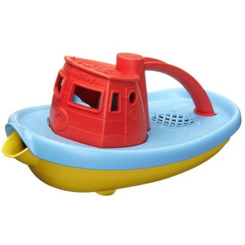 Green Toys My First Tug Boat, Red $ 7.64 @Amazon $7.64