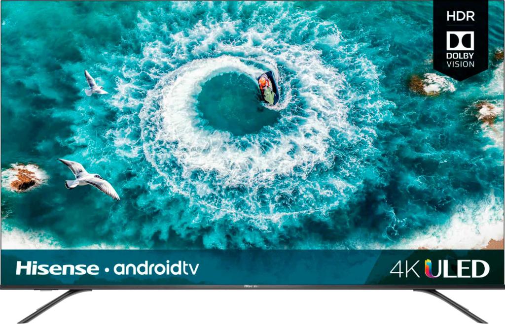 """Hisense 75"""" Class H8E Series LED 4K UHD Smart Android TV 75EU8070 - $593.99"""