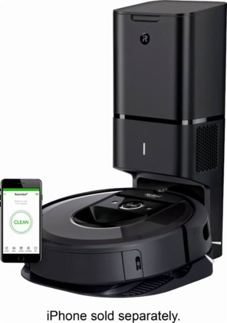 Irobot Roomba I7 7550 Self Charging Robot Vacuum W