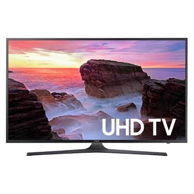 "49"" Samsung 4K TV 49MU6290 $300.98 YMMV in store"