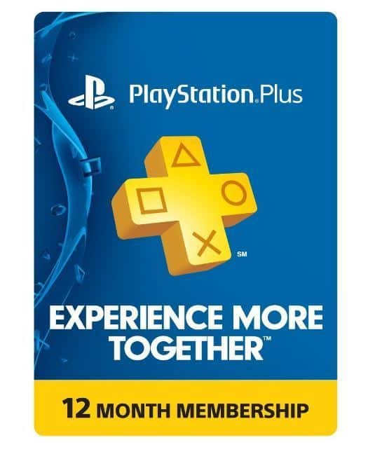 Sony PlayStation Plus 1 Year Membership Subscription Card - NEW!  US $47.99