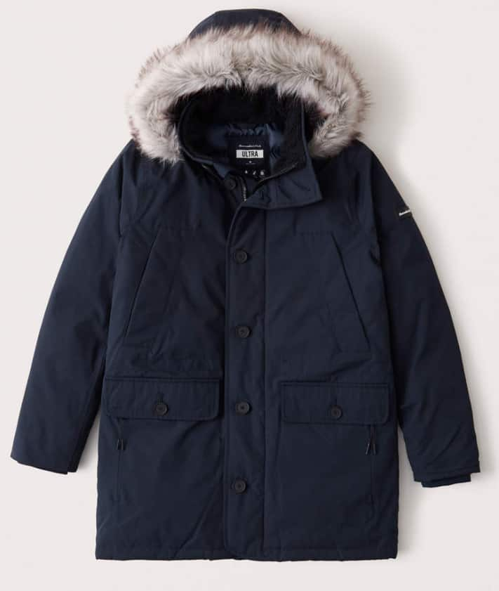 Abercrombie & Fitch Men's Ultra Parka (normally $280)