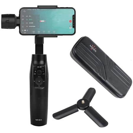 $79 for Moza Mini-MI 3-Axis Smartphone Gimbal Stabilizer with