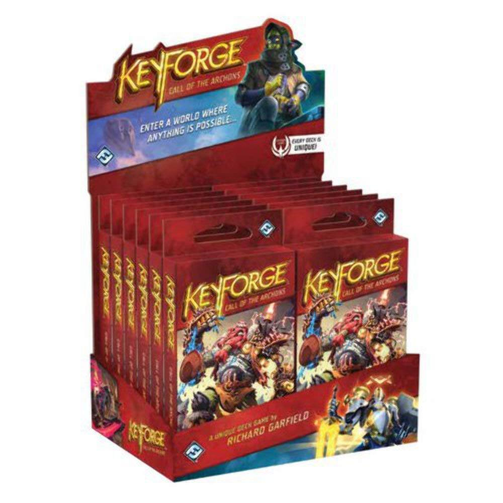 KeyForge: Call of The Archons - Archon Deck Display (12 Archon Decks) $34.99