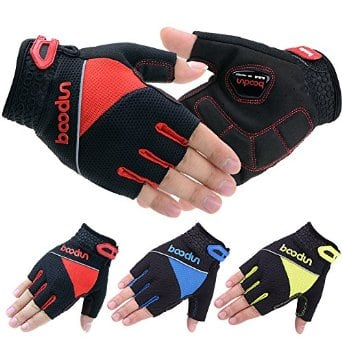 Vbiger Men's Cycling Bike Bicycle Anti-shocking Gel Silicone Sport Gloves - $9.89 @ Amazon