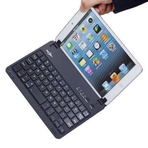 BATTOP Ultra-Uhin Bluetooth Keyboard Case Cover W/ Stand for IPad $14.24 @Amazon