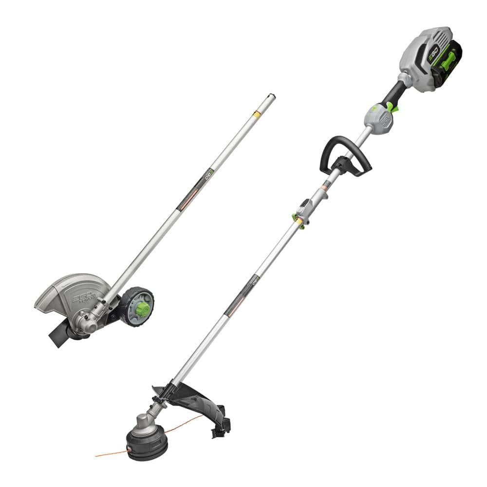 EGO String Trimmer and Edger Combo Kit with 5.0Ah Battery and Charger for EGO Power Head System $399 at HomeDepot