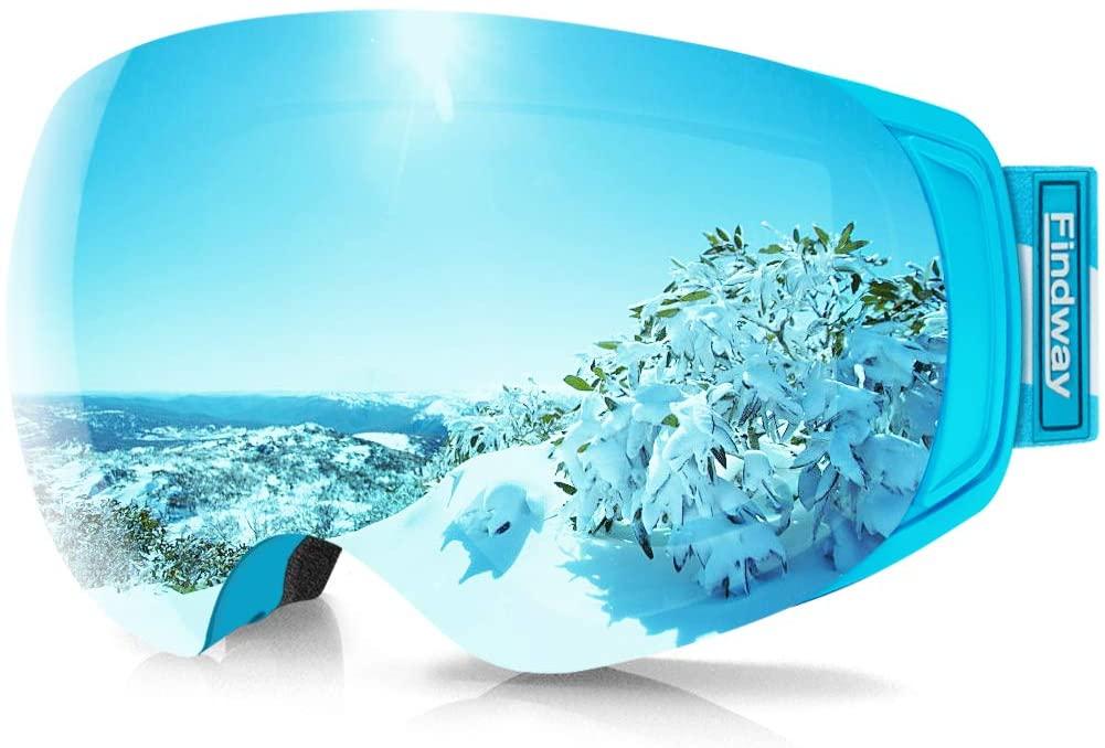 60% off findway Ski Goggles, OTG Snowboard Goggles $23.58