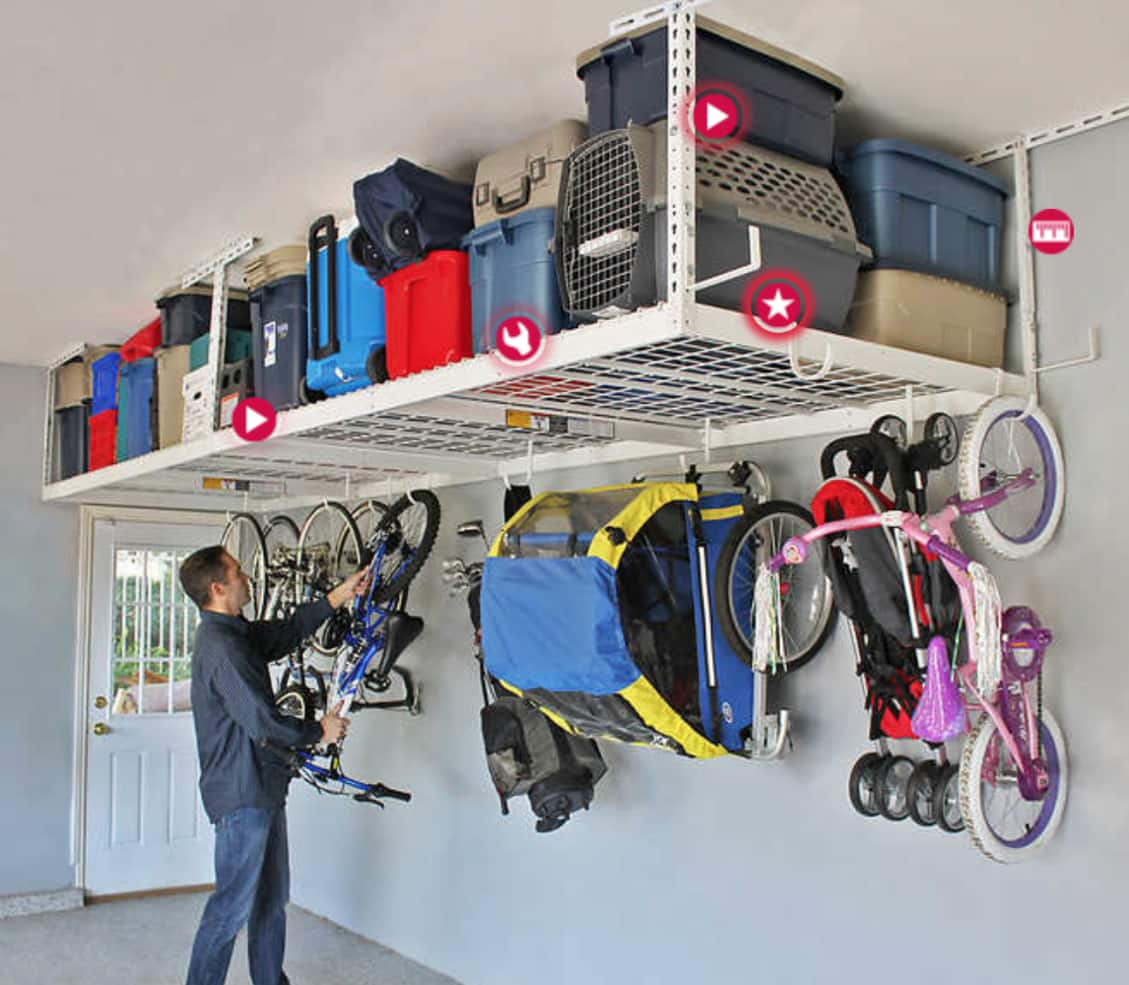 storage eden ceiling garage system big house costco advantages overhead ideas of image