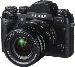 Fujifilm XT-1 Body or 18-55mm (black/silver body only)