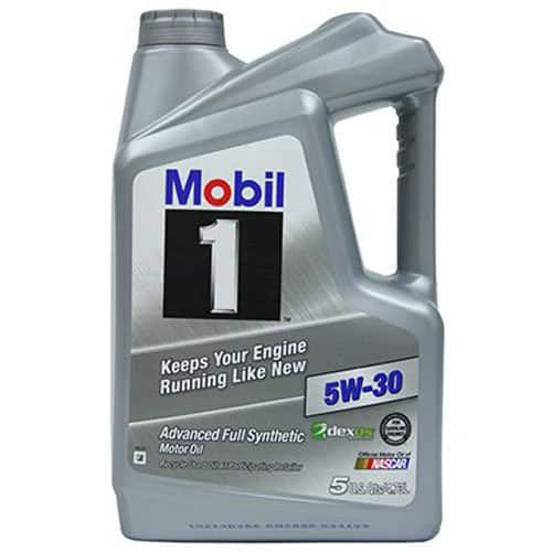Various weights of Mobil 1 Synthetic Motor Oil  5 quart - $19.98 at Amazon for prime members