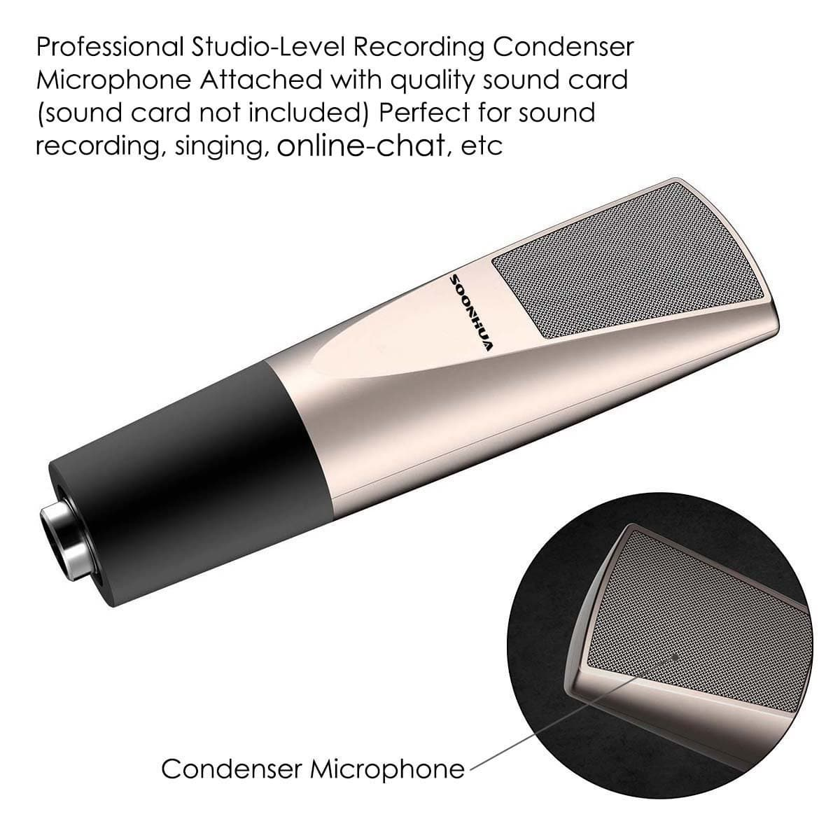 Studio Recording Condenser Microphone  50% off - FS with Amazon Prime (FBA)