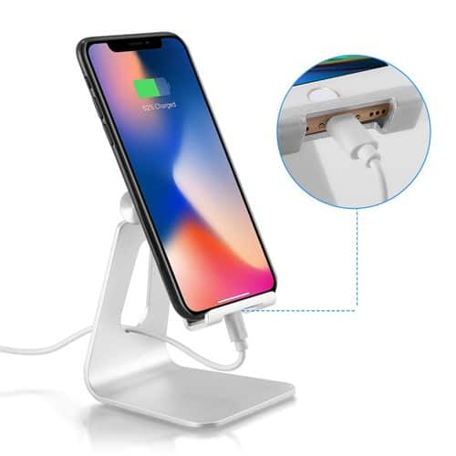 Amazon has Tablet Stand Phone Holder for $6.29 after 30% discount. FS for Prime.