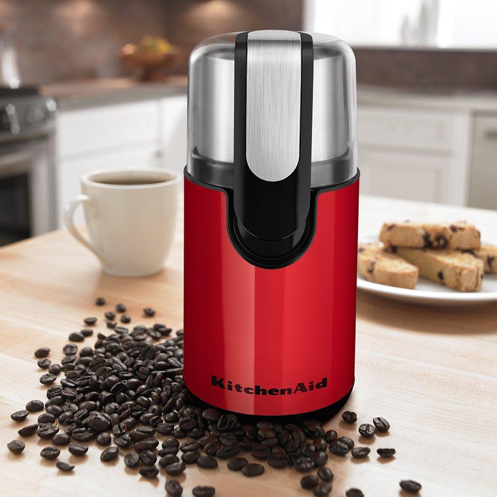 KitchenAid BCG111ER Blade Coffee Grinder - Empire Red $19