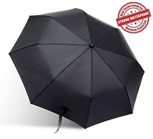 Bodyguard® Umbrella with Fibreglass Ribs and Water-proof Fabric $7.18 & FREE Shipping
