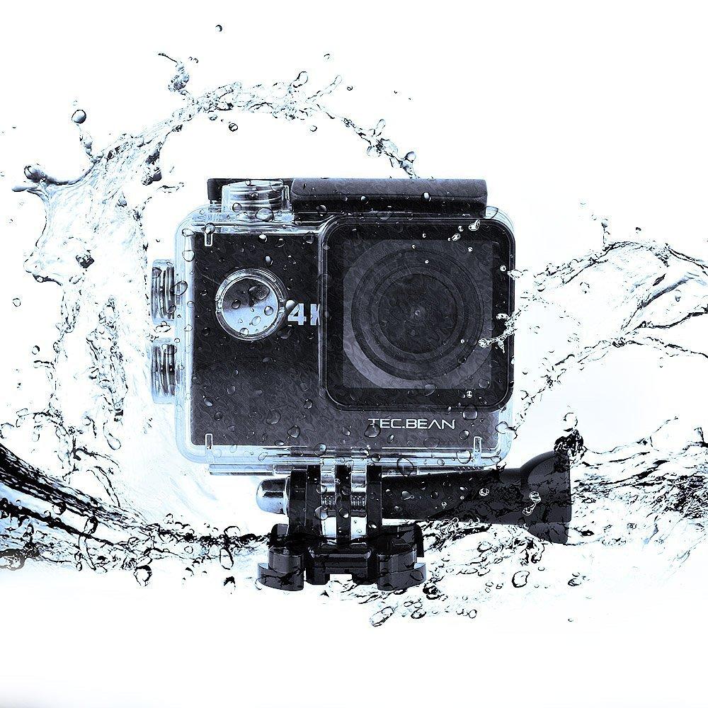 TEC.BEAN 4K Sport Action Camera 16MP WIFI Waterproof Camera $36.79 + free shipping