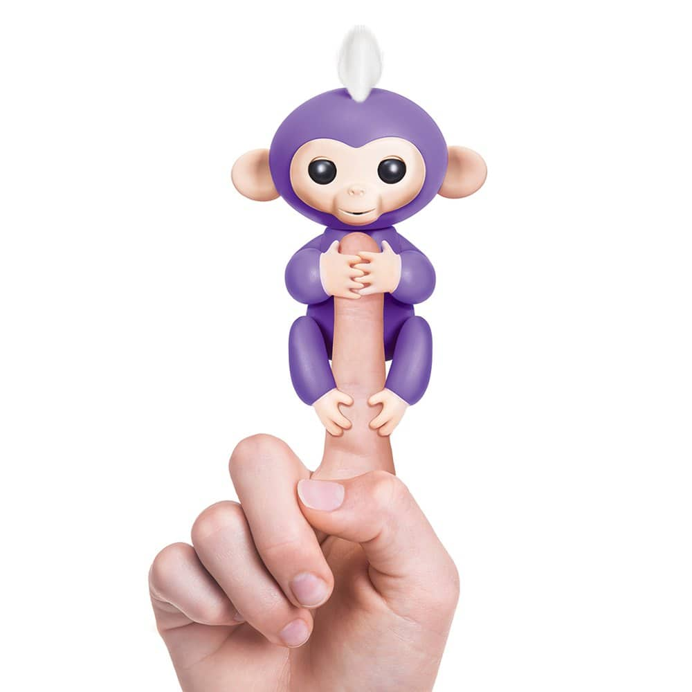 WowWee Fingerlings 6 Color Finger Monkey Smart Induction Toys - Purple $20.5 + free shipping