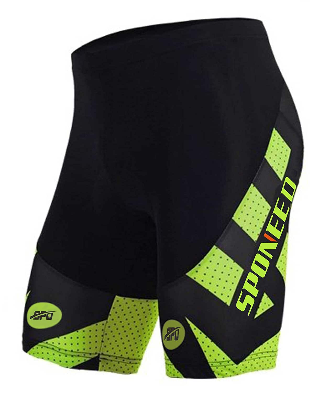 Men's Cycling Shorts Padded Bicycle Riding Pants  from $14.79-$20.71 &Free shipping with prime