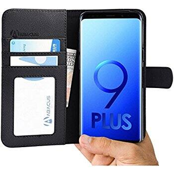 Abacus24-7 Phone Cases: Samsung Galaxy S9, S9 PLUS, iPhone 6/6S, 6/6S PLUS & iPhone X  (Black) - $2.99 + free shipping