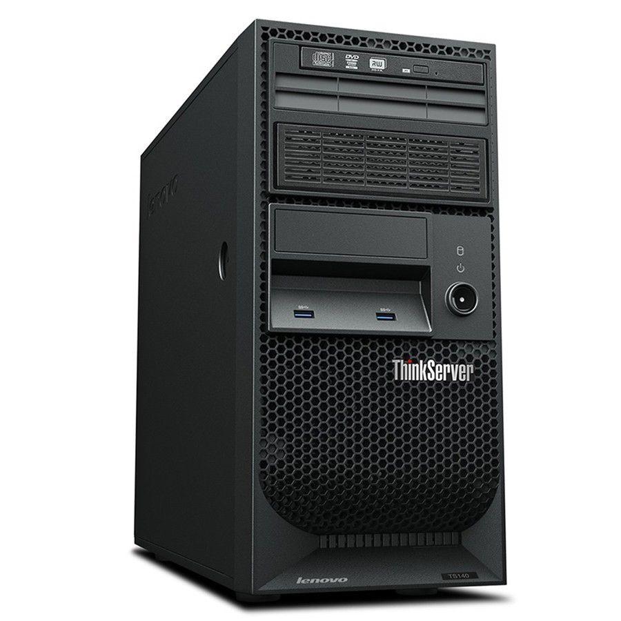 Lenovo Thinkserver TS140 70A4003AUX 4U Tower Server Xeon E3-1226 v3 3.3Ghz 4GB Ram DVDRW Good entry Server Desktop or Plex NAS 319.99 ($300.79 after ebay bucks back) Free Shipping