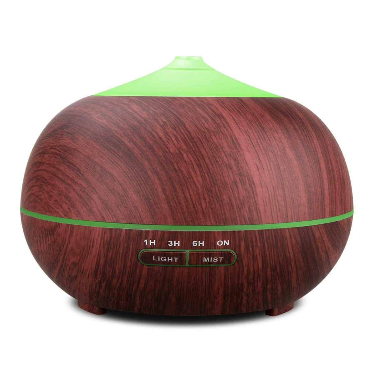Tenswall Essential Oil Diffuser, 400ml Aromatherapy Diffuser Ultrasonic Cool Mist Humidifier, Auto Shut-off, 4 Timer Settings, 7 Color LED Light $12.76 AC Amazon Prime