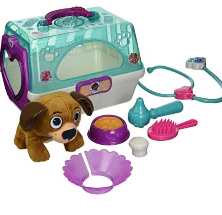 Doc Mcstuffins Just Play Toy Hospital Pet Carrier Findo Plush $12.38