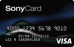 Sony Credit Card $200 Credit After Spending $500 within 90 Days of Account Opening
