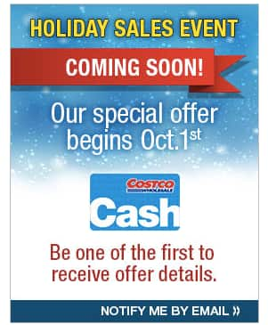 2016 Costco GM Holiday Sales Event