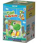 Yoshi Woolly World +Green Yarn Yoshi Amiibo (Wii U) @ Walmart.com $59.88 Pre-Order