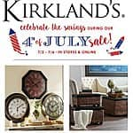 Kirkland's - Up to 40% off 4th of July sale + Extra Up to $30 off