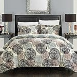 3-Piece King Jameson Reversible Print Duvet Set in Beige $19.99 + ship @beyondtherack.com
