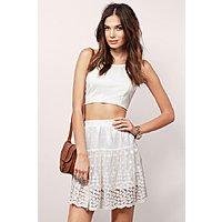 Simply Yours Skirt $  32 +fs @tobi.com