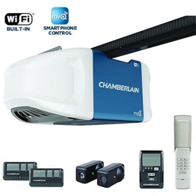 Chamberlain 3/4 HPS Wi-Fi Belt Drive Garage Door Opener - $124.04 - Home Depot - YMMV - B&M